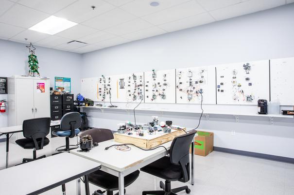 Heating, Ventilation and Air Conditioning (HVAC) Lab 4 at UEI Oceanside Trade School Campus - UEI College