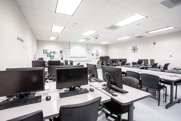Business Office Administration Lab 2 at UEI Stockton Trade School Campus - UEI College